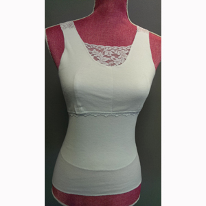 Softee by Ladies First Softee Roo Post Surgical Camisole with Lace