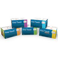 MHC 831365 EasyTouch Insulin Syringes-31 G-0.3 CC-100/Pack