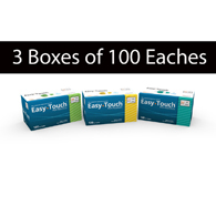 MHC EasyTouch Pen Needles-3 Boxes of 100