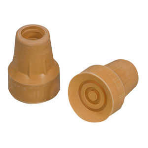 Mabis Healthcare 512-1431-9502 Replacement Crutch Tip