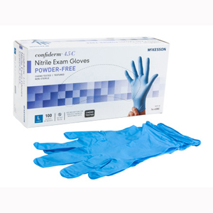 McKesson 14-658C Confiderm Latex Free Exam Glove-100/Box