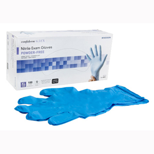 McKesson 14-680C Confiderm Latex Free Exam Glove-100/Box