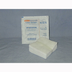 McKesson 16-4276 Medi-Pak Sterile Performance Plus Gauze Sponge-720/CS