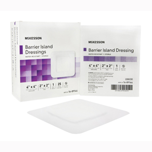 McKesson 16-89144 Composite Island Dressing-25/Box