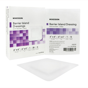 McKesson 16-89166 Composite Island Dressing-25/Box