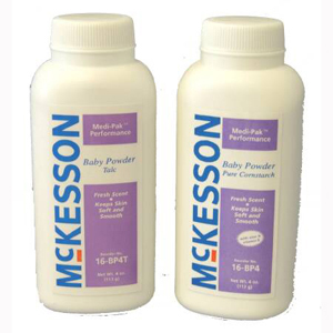 McKesson 16-BP4 Medi-Pak Performance Baby Powder-48/Case