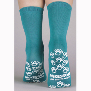 McKesson 40-1069 Medi-Pak Performance Slipper Socks-96/Case