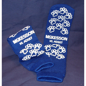 McKesson 40-3816 Medi-Pak Performance Slipper Socks-48/Case