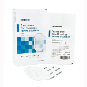 McKesson 4985 Transparent Film Dressing-100/Box