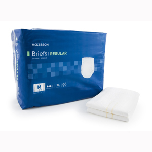 McKesson BRCLMD Regular Cloth Brief-96/Case