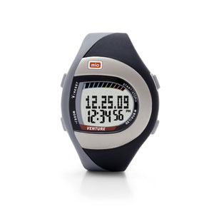 Mio Venture Heart Rate Monitor Watch-Black
