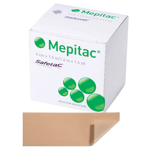 Molnlycke 298400 Mepitac Silicone Tape-12/Case