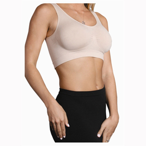 N-Fini 570 Seamless Double V Neck Bralette w/out Underwire