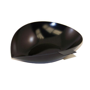 "Ohaus 4590-30 Black Aluminum Scoop-4"" X 3.5"""