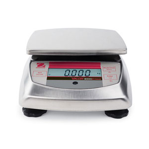 Ohaus V31 Valor 3000 NTEP Certified Extreme Compact Bench Scales