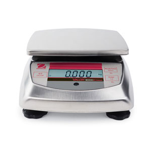 Ohaus Valor 3000 Extreme Compact Washdown Precision Scale