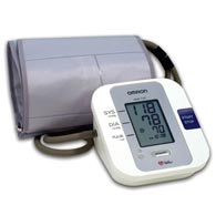 Omron HEM 712CLC Automatic Blood Pressure Monitor with Large Cuff