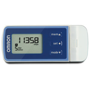 Omron HJ-324U Five Function USB Pedometer-Bulk Packaged