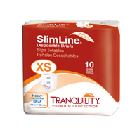 Tranquility 2166 Extra Small Slimline Briefs 100/Case