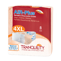 Tranquility 2195 Air-Plus Bariatric Brief-32/Case