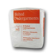 Select 2650 Belted Undergarment 120/Case