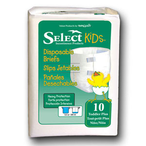 Select 3665 Toddler+ Select Brief 100/Case