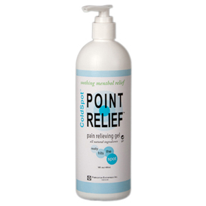 Point Relief ColdSpot Lotion-16 oz Gel Pumps