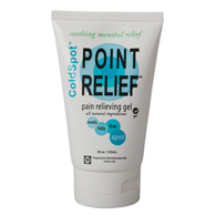 Point Relief ColdSpot Lotion-Gel Tubes-4 oz