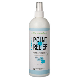 Point Relief ColdSpot Lotion-16 oz Spray Bottles
