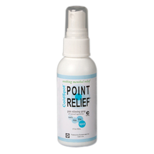 Point Relief ColdSpot Lotion 2 oz Spray Bottles