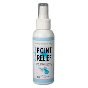 Point Relief ColdSpot Lotion-4 oz Spray Bottles
