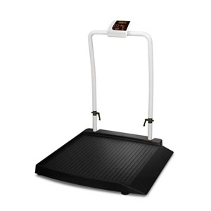 Rice Lake 350-10-2 Single Ramp Wheelchair Scale (141445)