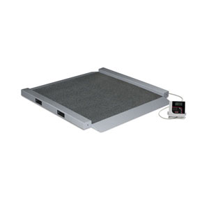 Rice Lake 350-10-6 Dual Ramp Portable Wheelchair Scale (150704)