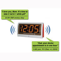 Reminder Rosie 58060 Voice Activated 25 Alarm Clock