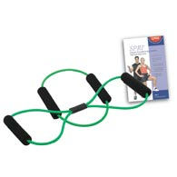 SPRI FCS lbR Rubber Resistance Fitness Conditioning System-Light