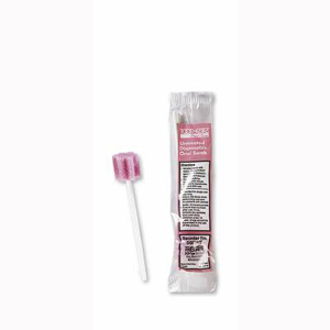 Sage Products 5602UT Toothette Foam Untreated Oral Swab-250/Pack