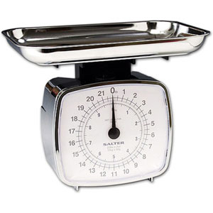 Salter 074CRDR Chrome Kitchen Scale