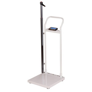 Brecknell HS-300 Physician Scale with Handrail & Height Rod