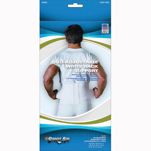 Scott Specialties SA3251-WHI-XL Sport-Aid Back Support Belt