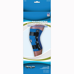 Scott Specialties SA9063-BLU-XL Sport-Aid Neoprene Hinged Knee Brace