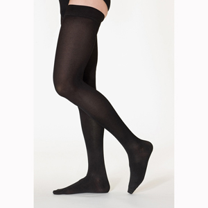 SIGVARIS 232NW 20-30 mmHg Cotton Thigh Highs