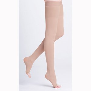 SIGVARIS 503W Natural Rubber Thigh High w/ Attachment-OT