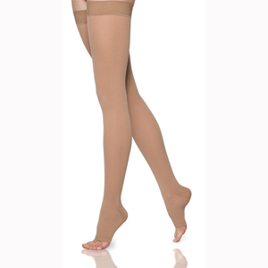 SIGVARIS 863N 30-40 mmHg Select Comfort Thigh Highs-Open Toe