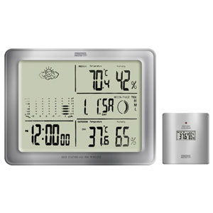 Springfield 91905-002 Deluxe Wireless Weather Forecaster