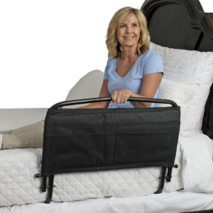 "Stander 8051 30"" Safety Bed Rail & Padded Pouch"