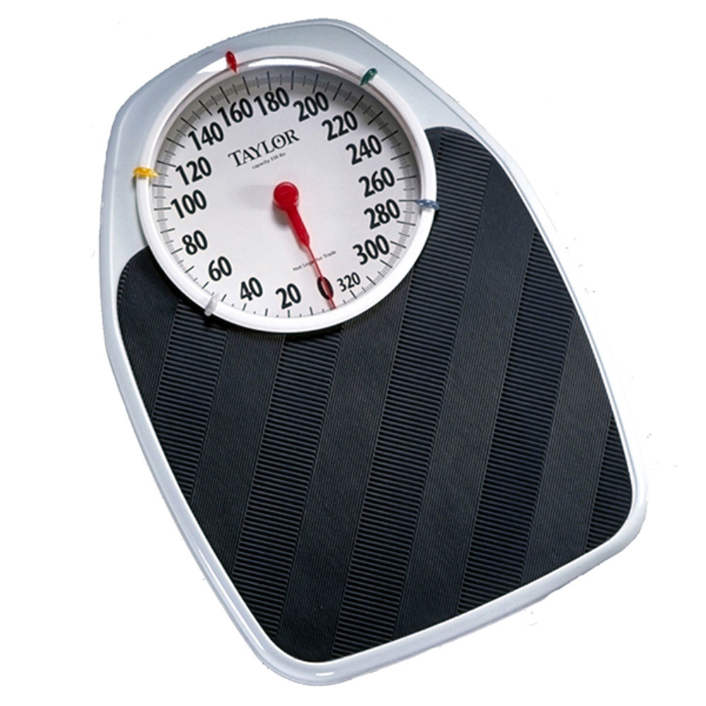 Taylor 1130t 1130 t analog bath scale w speedometer - How to calibrate a bathroom scale ...