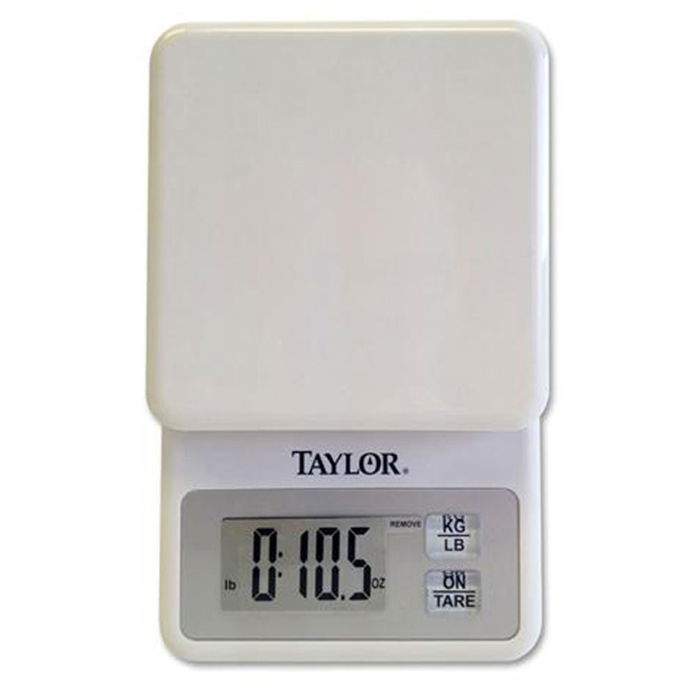 Digital Kitchen Scale: Taylor 3817 Compact Digital Kitchen Scale