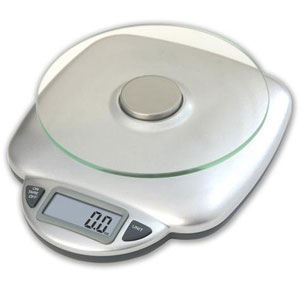 Taylor 3842 Digital Food Scale-11 lb/5000 g. Capacity