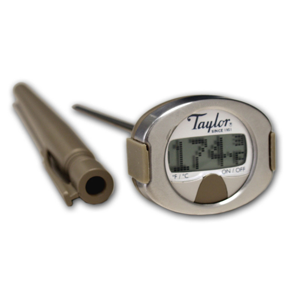 taylor 508 connoisseur digital instant read thermometer ebay. Black Bedroom Furniture Sets. Home Design Ideas