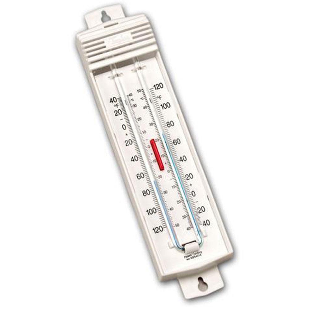 taylor precision 5460 indoor outdoor minimum maximum thermometer ebay. Black Bedroom Furniture Sets. Home Design Ideas